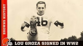 Browns History: Lou Groza signed his contract in Okinawa
