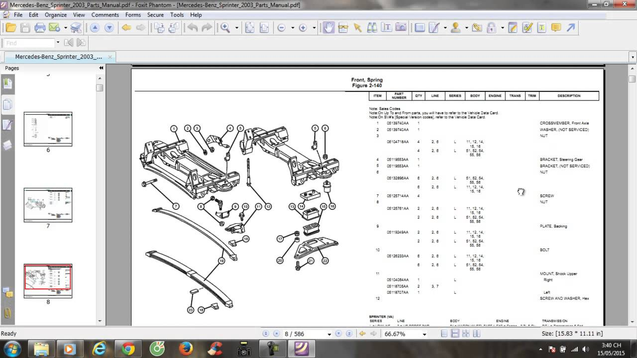 Dodge Sprinter Transmision Parts Diagram Manual Guide Wiring Fuel Filter Mercedes Benz 2003 Youtube Rh Com Body