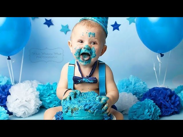 First 1st Birthday Photoshoot Ideas For Baby Boy Photosession Ideas At Home Partydecoration Baby Youtube