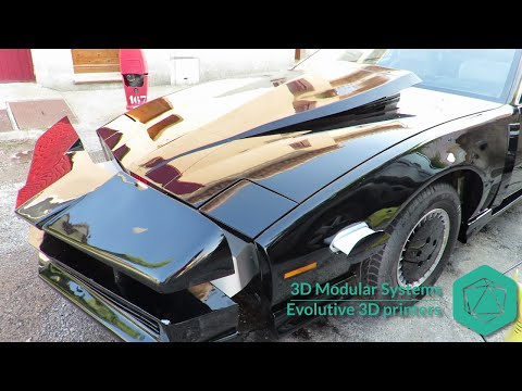 [EN] Knight rider replica K2000 car (customized with a 3D printer)