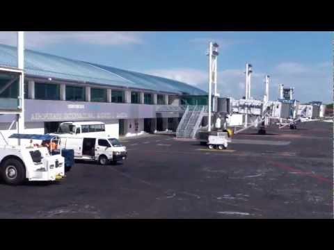 En Aeropuerto Augusto Cesar Sandino