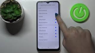 Jak zarządzać dźwiękiem ładowania w SAMSUNG Galaxy M22 - Włącz / wyłącz dźwięk ładowania