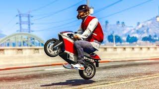 EPIC MINI BIKE CHALLENGE! - (GTA 5 Mods Funny Moments)