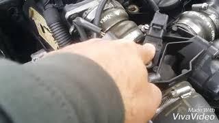 Le buzz mecanique...comment changer un capteur de pression de suralimentation 1.6 hdi