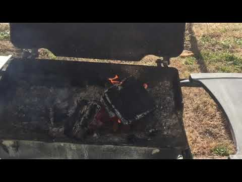 DIY Make a Coal Blacksmith Forge From an Old Gas Grill
