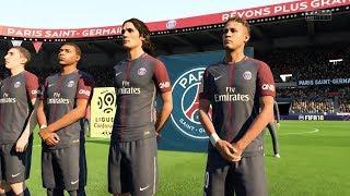 FIFA 18 PSG VS Monaco Gameplay HD