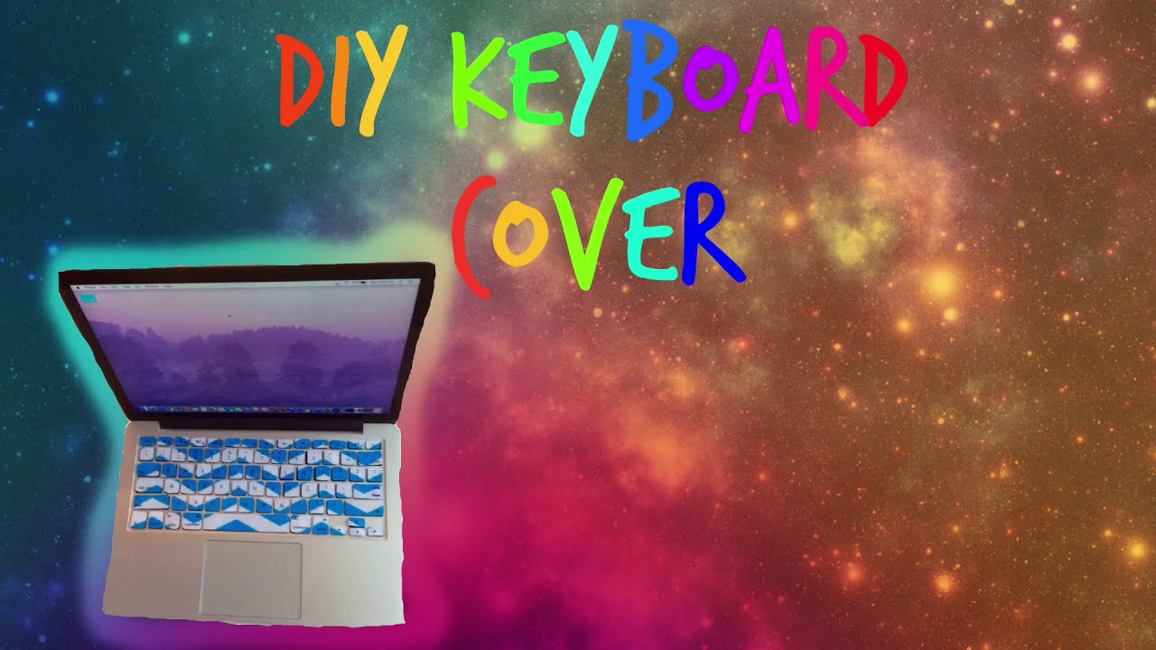 DIY Laptop Keyboard Cover/Stickers