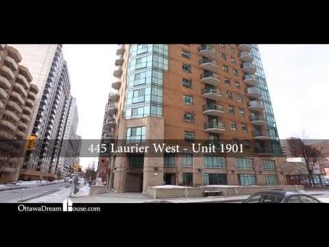 1901-445 Laurier Ave. W., Centre Town, Ottawa - Video Tour