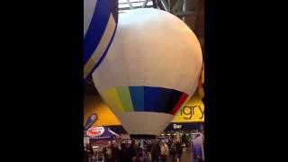 My Own Rc Balloon On Its Maiden Flight At Nec 1/12/13