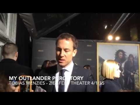 Outlander's Tobias Menzies at Ziegfeld: MOP Interview!