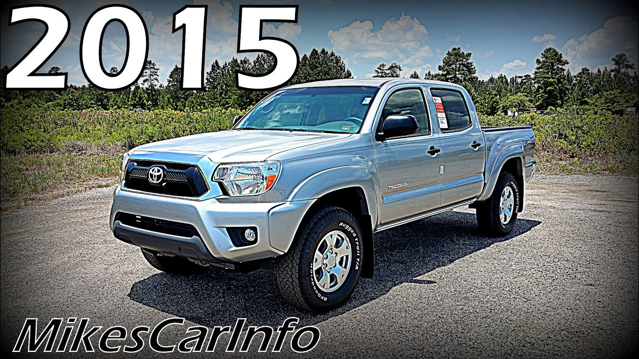 2015 toyota tacoma trd off road double cab youtube. Black Bedroom Furniture Sets. Home Design Ideas