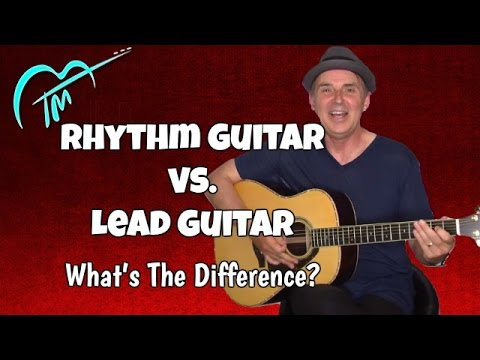 Download Youtube: Rhythm Guitar Vs. Lead Guitar What's The Difference?