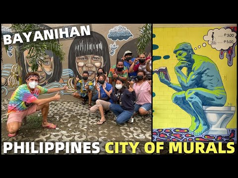 PHILIPPINES CITY OF MURALS - Filipino Street Art In Tagum - DAVAO IS BLOOMING!