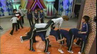 Funny Painful Horse Game ( feat. Shinhwa + Kang Ho Dong ) ( eng sub )