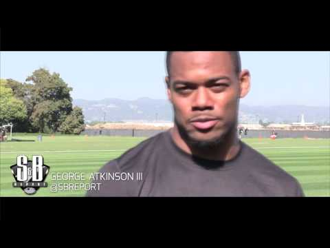 RB George Atkinson III First NFL Minicamp In The Books