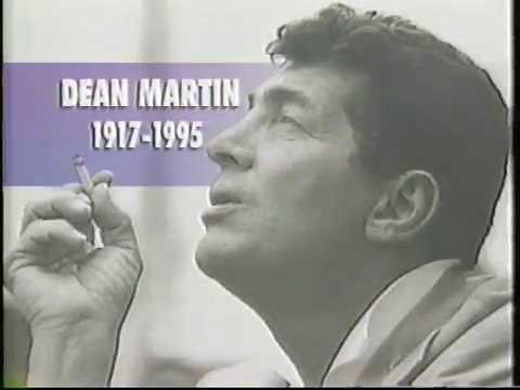 News reports on the passing of Dean Martin