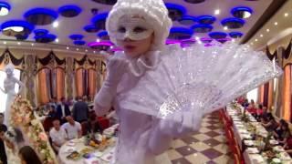 цыганско-азербайджанская свадьба Яши и Кристи.Ведущая Дарья Иремашвили .Оренбург
