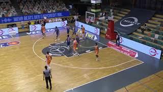 Vechta vs. Mitteldeutscher BC - 2020-21 German BBL | Playing Time Philipp Herkenhoff #14 orange