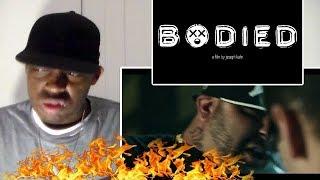 """Bodied Trailer """"EMINEM RAP BATTLE MOVIE"""" REACTION!!!"""