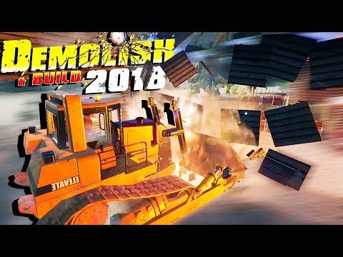 BULLDOZER RAMPAGE! - Demolish and Build 2018 Gameplay - Demo