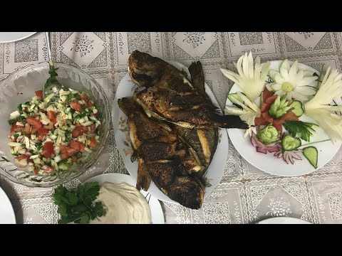 Cooking Fish With Happy Call قلي السمك بقليل من الزيت