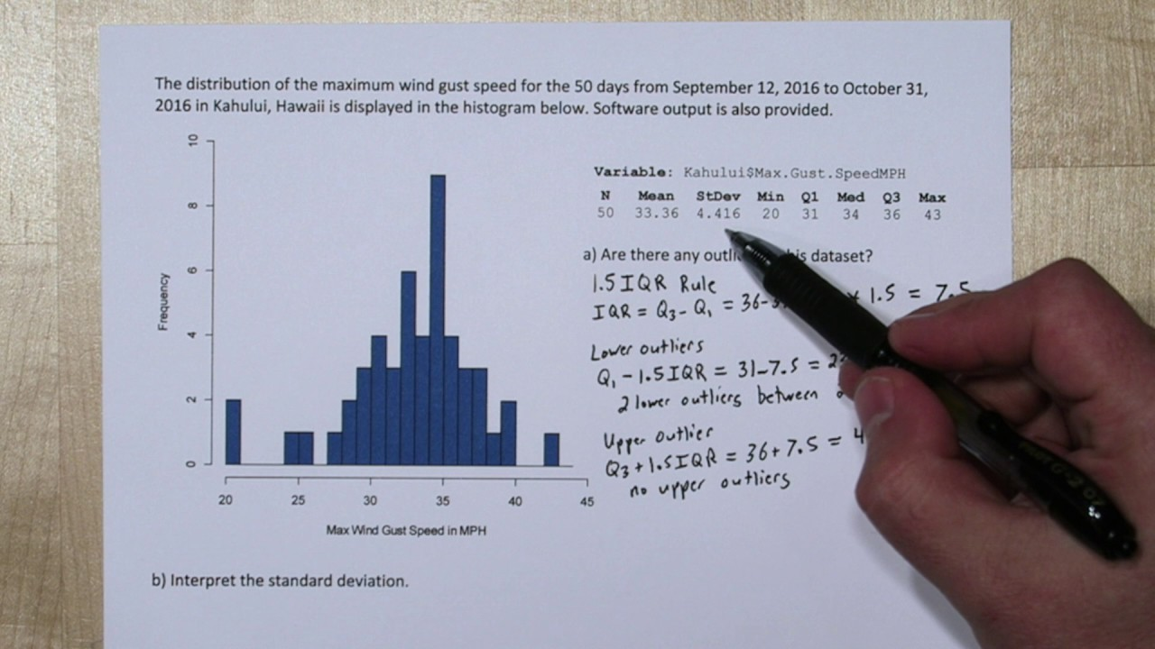 Finding outliers from computer output reading histograms youtube finding outliers from computer output reading histograms ccuart Choice Image