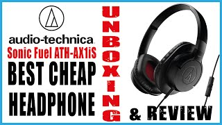 Audio Technica Sonic Fuel ATH-AX1iS⎜UNBOXING & QUICK REVIEW