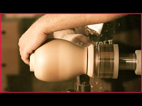 Woodturning Cremation Urn