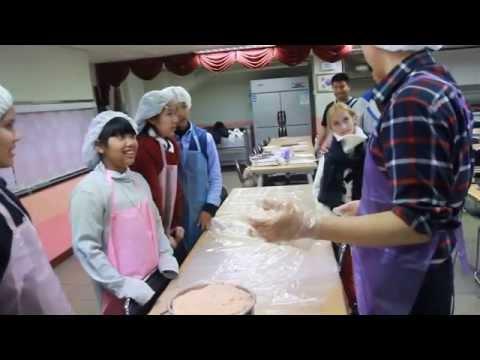 Sausage Making in Korea 2014