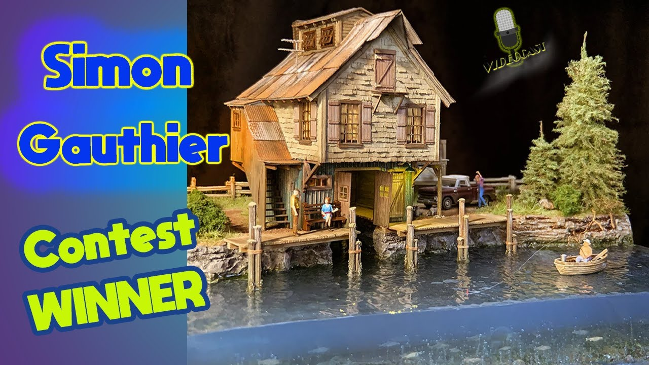 MRT Video Podcast 20- HO Scale Model Railroading Facebook Contest Winner- 2020