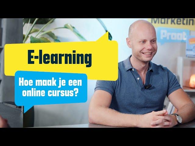 Hoe maak je een online cursus?