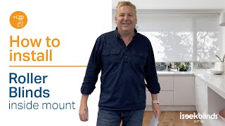 Roller Blinds - How to Install a Chain Drive Roller Blind, Inside mount Mp3