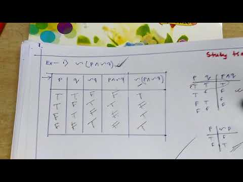 Discrete Mathematics - Propositional Logic Problem Sloved in Hindi