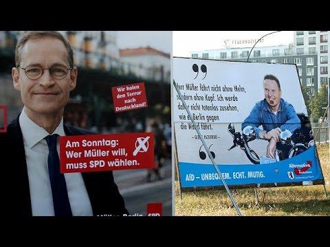 Berlin's big election blow for Merkel - exit polls