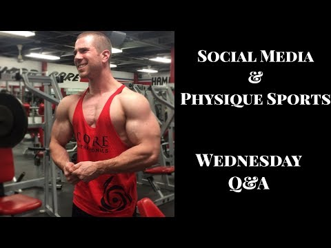 Weekly Wednesday Live Q&A Episode #23 | Social Media and Physique Sports