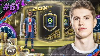 WIR PROBIEREN 20x LIGUE 1 81+ PACKS 😬🔥 I FIFA 21 ROAD TO GLORY #61