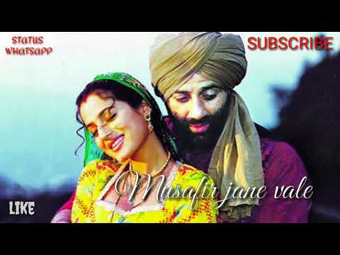 Musafir Jane vale - GADAR  ||Romantic love...