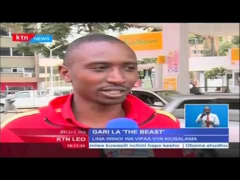 KTN Leo Full Bulletin 23rd July 2915 (Barack Obama akuja Kenya)