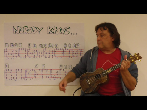 Fingerstyle UKULELE Lesson #95: NOBODY KNOWS THE TROUBLE I'VE SEEN (Spiritual)