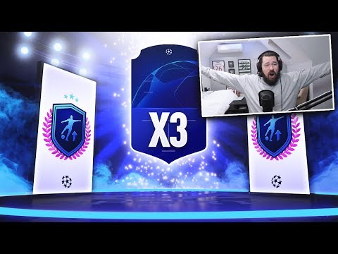 3 x WALKOUTS IN A ROW! - INSANE WALKOUT PACK LUCK - FIFA 19 Ultimate Team