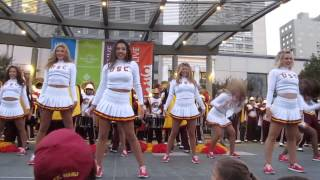 USC Band Pep Rally Union Square San Francisco California 2014