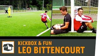 ESEL-Freistoß-Challenge vs. Leo Bittencourt  1. FC Köln   Fun-Challenge   Kickbox