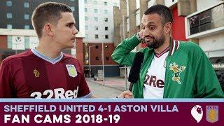 FAN CAMS 18/19 | Sheffield United 4-1 Aston Villa