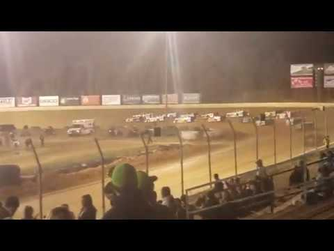Super Late Model Feature start Florence Speedway