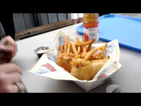 Barbs Fish And Chips Fisherman's Wharf Victoria BC
