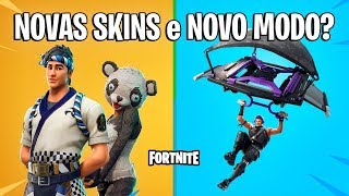 FORTNITE-NEW SKINS TOMORROW and NEW MODE?!