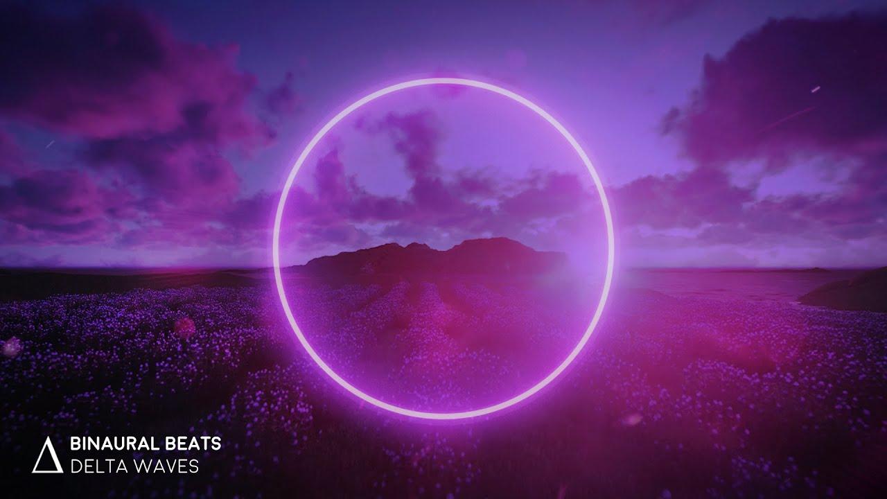 "INSOMNIA RELIEF [Relax & Fall Asleep] ""Lavender Hill"" Binaural Beats Sleep Music"
