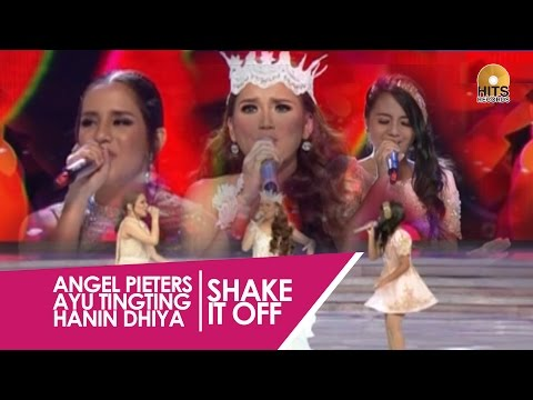 Angel Pieters Ayu Ting Ting Feat Hanin Dhiya [Miss Indonesia 2015]