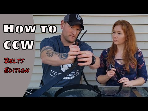 How to CCW | Gun Belts