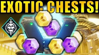 Destiny 2: ALL EXOTIC CHEST LOCATIONS! | Leviathan Raid